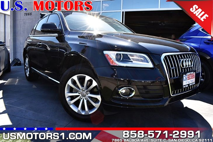 2016 Audi Q5 Premium Plus*CLEAN TITLE/1-OWNER PER AUTOCHECK