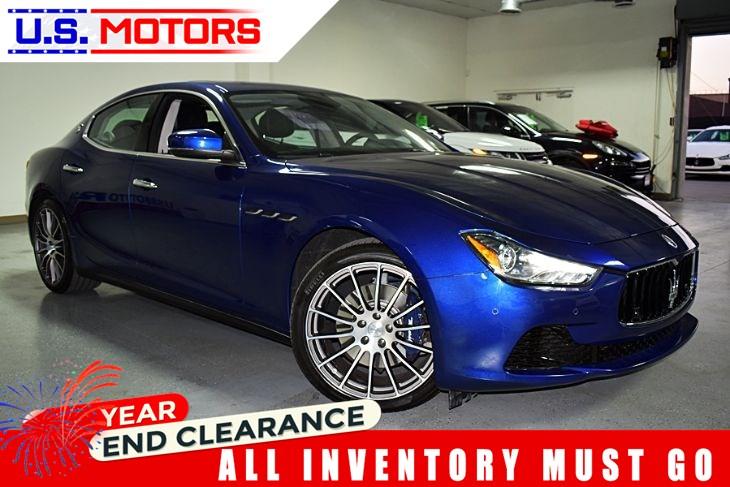 Who Owns Maserati >> 2017 Maserati Ghibli Clean Title 1 Owner Per Autocheck Us Motors
