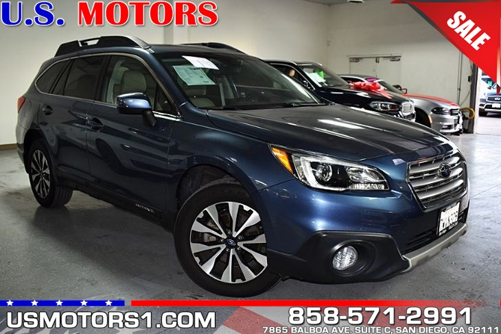 2017 Subaru Outback Limited 1 owner no accident