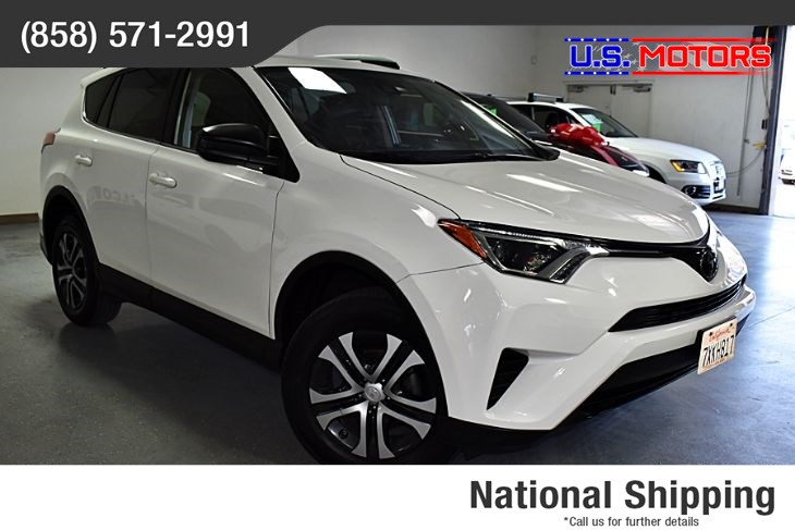 2017 Toyota RAV4 LE *CLEAN TITLE/1-OWNER PER AUTOCHECK*