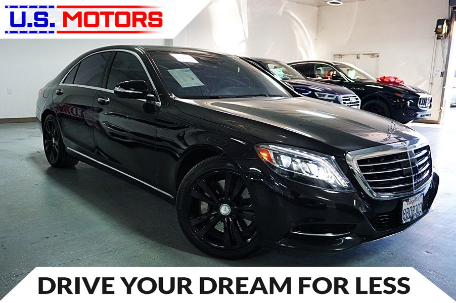 2015 Mercedes-Benz S 550 Sedan *CLEAN TITLE PER AUTOCHECK*