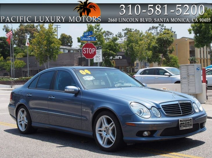 2004 Mercedes-Benz E55 AMG w/ SOLAR PANEL / PANORAMIC SUNROOF