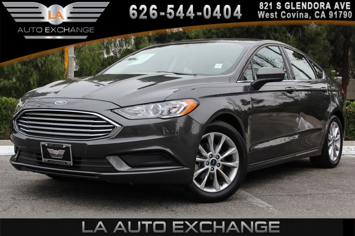 Sold 2017 Ford Fusion Se In West Covina