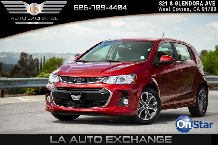 2019 Chevrolet Sonic RS Cajun Red Tintcoat