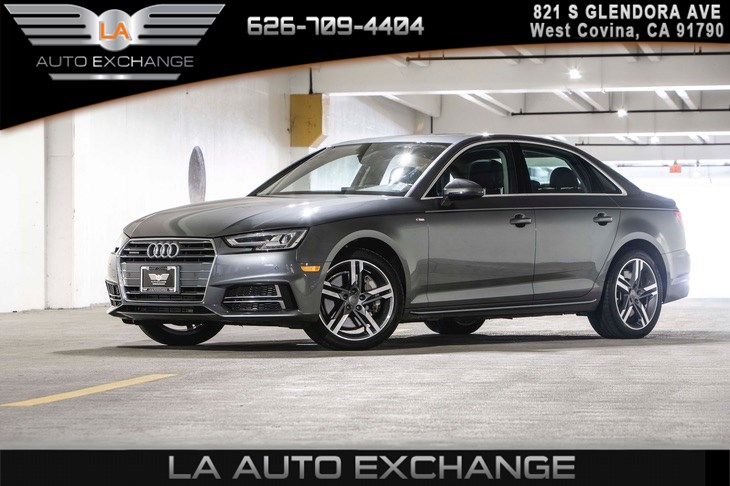 2017 Audi A4 2.0T quattro Premium TECHNOLOGY PACKAGE