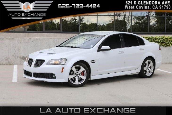 Sold 2009 Pontiac G8 Gt Premium Package Heated Front Seats In West Covina