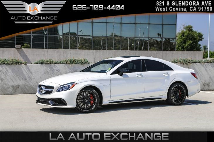 2017 Mercedes-Benz AMG CLS 63 4MATIC Coupe (AMG NIGHT PKG & PREMIUM 2 PKG )