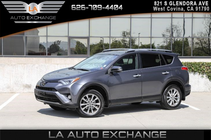 2017 Toyota RAV4 Limited(SPORT SEATS & AIR CONDITIONING)