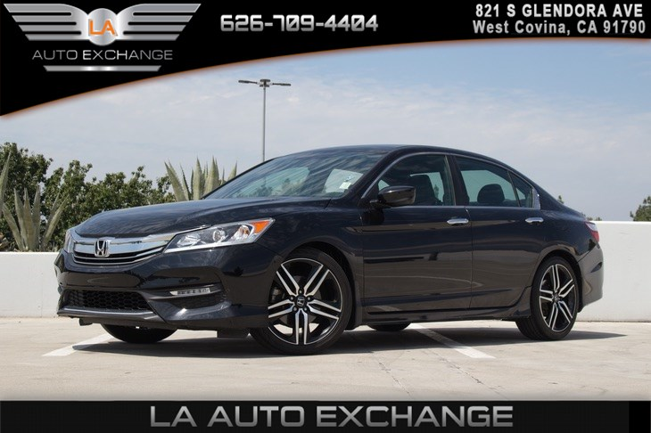 2017 Honda Accord Sedan Sport (Backup Camera & Bluetooth)