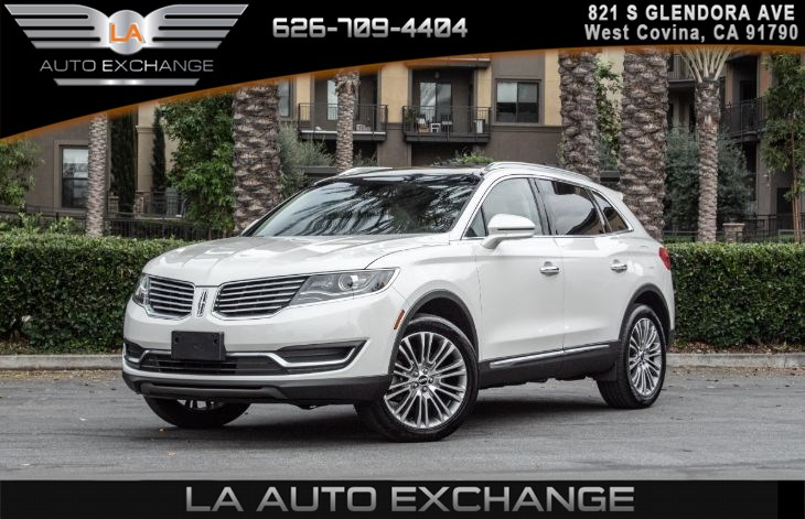 2017 Lincoln MKX Reserve (Navigation & Cooled/Heated Seats)