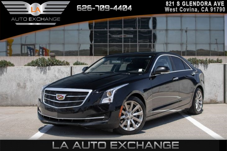 2017 Cadillac ATS Sedan Luxury RWD(LEATHER SEATS & DRIVER AWARENESS PKG)