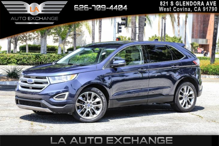 2017 Ford Edge Titanium ( COLD WEATHER PACKAGE )