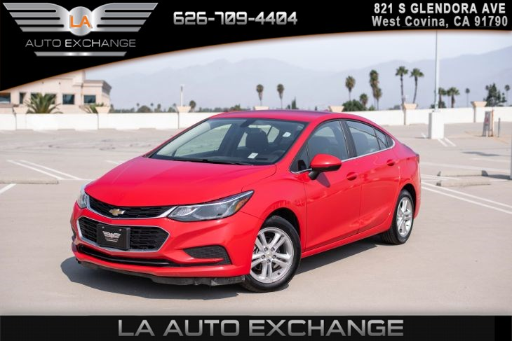 2018 Chevrolet Cruze LT(CONVENIENCE PACKAGE & BACK UP CAMERA)