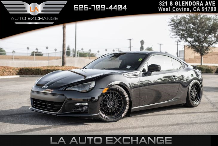 2013 Subaru BRZ Limited(PROTECTION PKG & BLACK ALCANTRA SEATS)