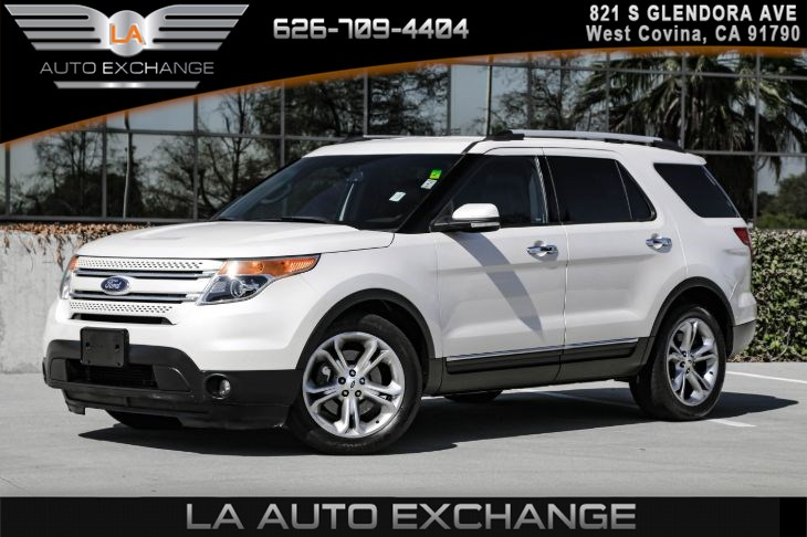 2015 Ford Explorer Limited ( CALIFORNIA EMISSIONS SYSTEM )