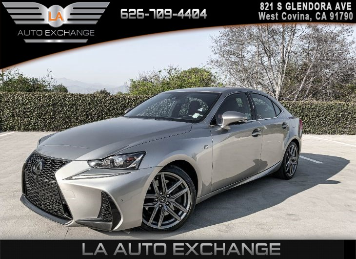 2018 Lexus IS300 F-SPORT ( COMFORT PACKAGE & F SPORT PACKAGE )