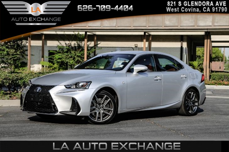 2018 Lexus IS 350 ( F SPORT PACKAGE W/ RED LEATHER SEATS) )