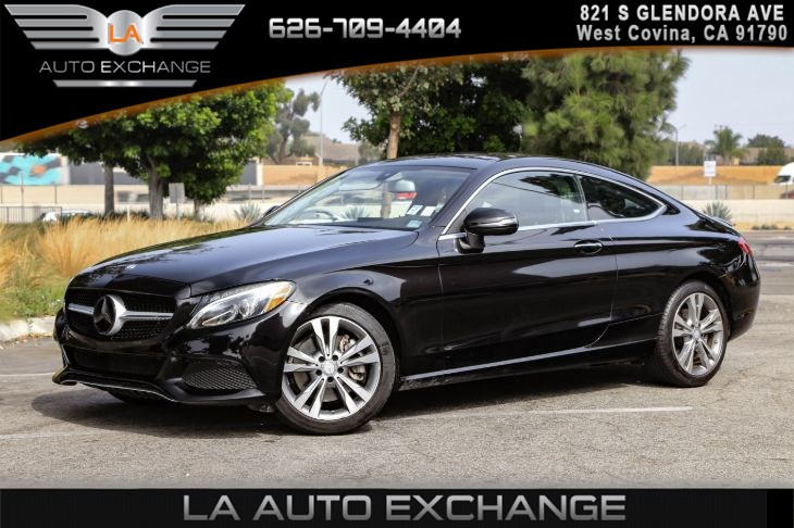 2017 Mercedes-Benz C 300 Coupe ( PREMIUM 1 PACKAGE )