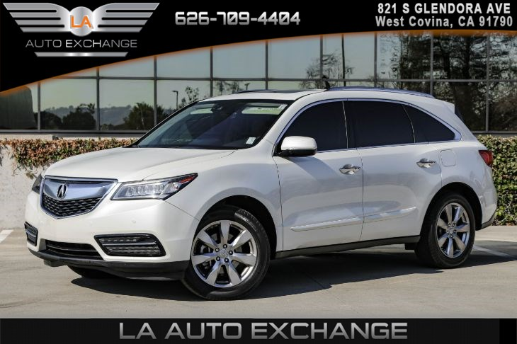 2016 Acura MDX w/Advance ( MILANO PREMIUM LEATHER INTERIOR )