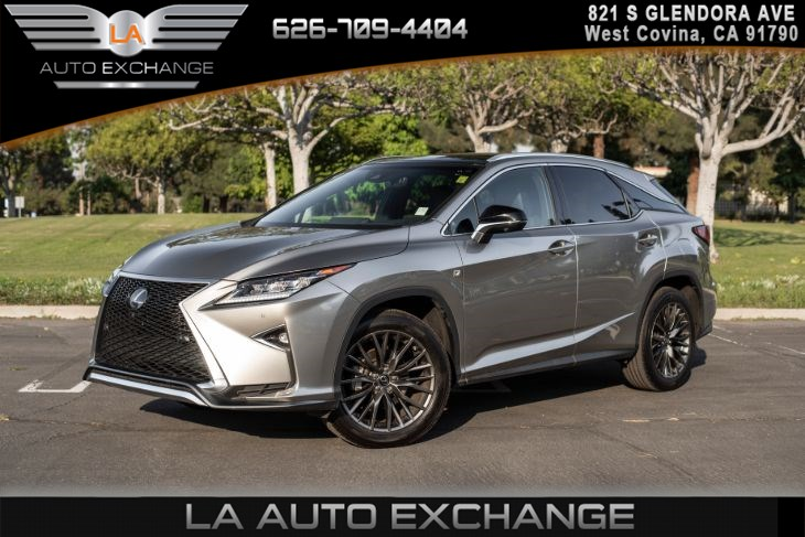 2017 Lexus RX RX 350(F SPORT PKG & PANORAMIC MOONROOF)