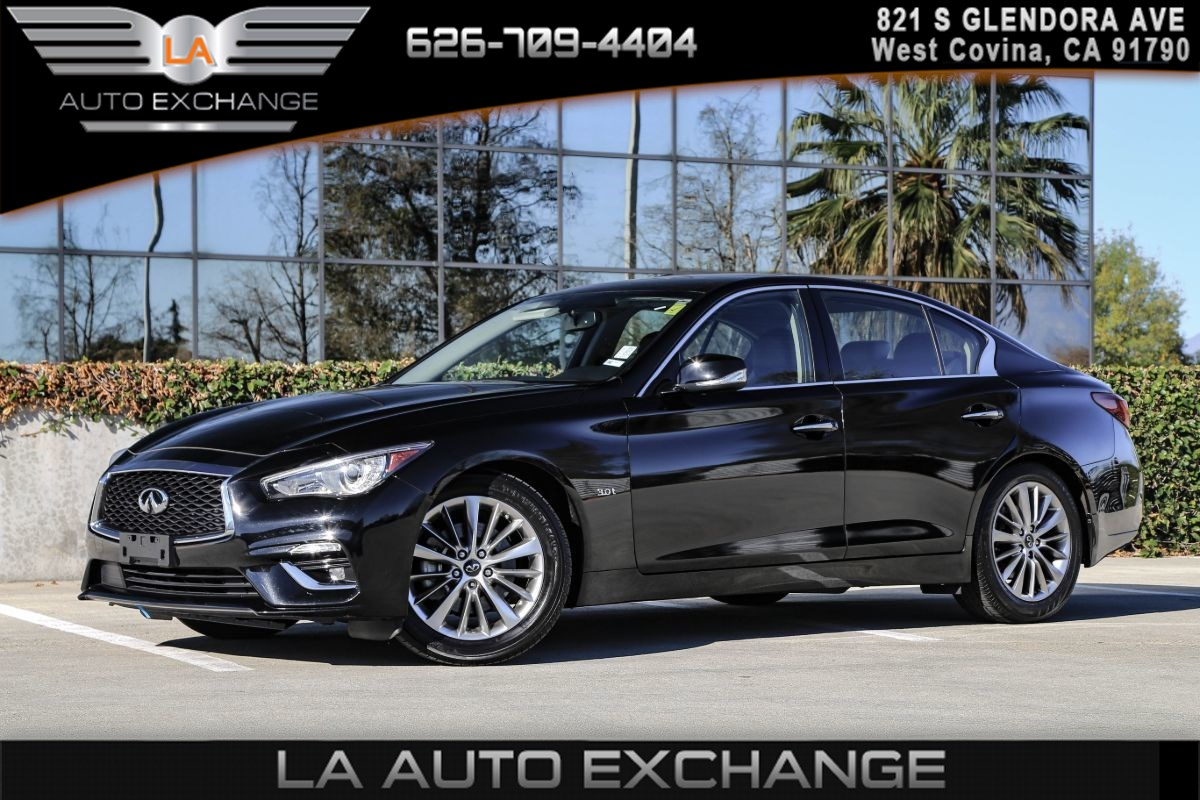 2019 INFINITI Q50 3.0t LUXE ( CARGO PACKAGE & BACK-UP CAMERA )