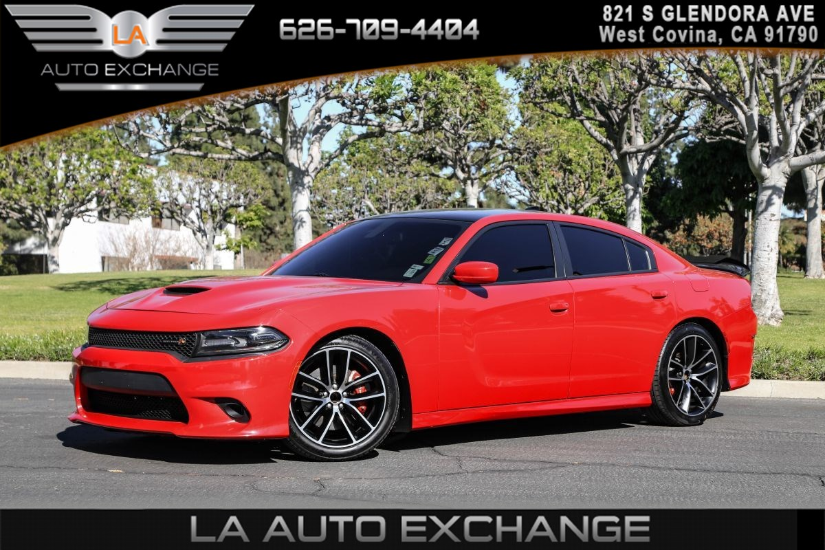 2018 Dodge Charger R/T Scat Pack ( V8 SRT HEMI & BACK-UP CAMERA )
