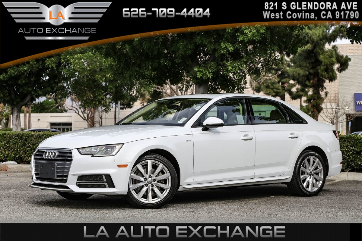 "2018 Audi A4 Premium ( LEATHER SEATING & 18"" WHEEL PACKAGE )"