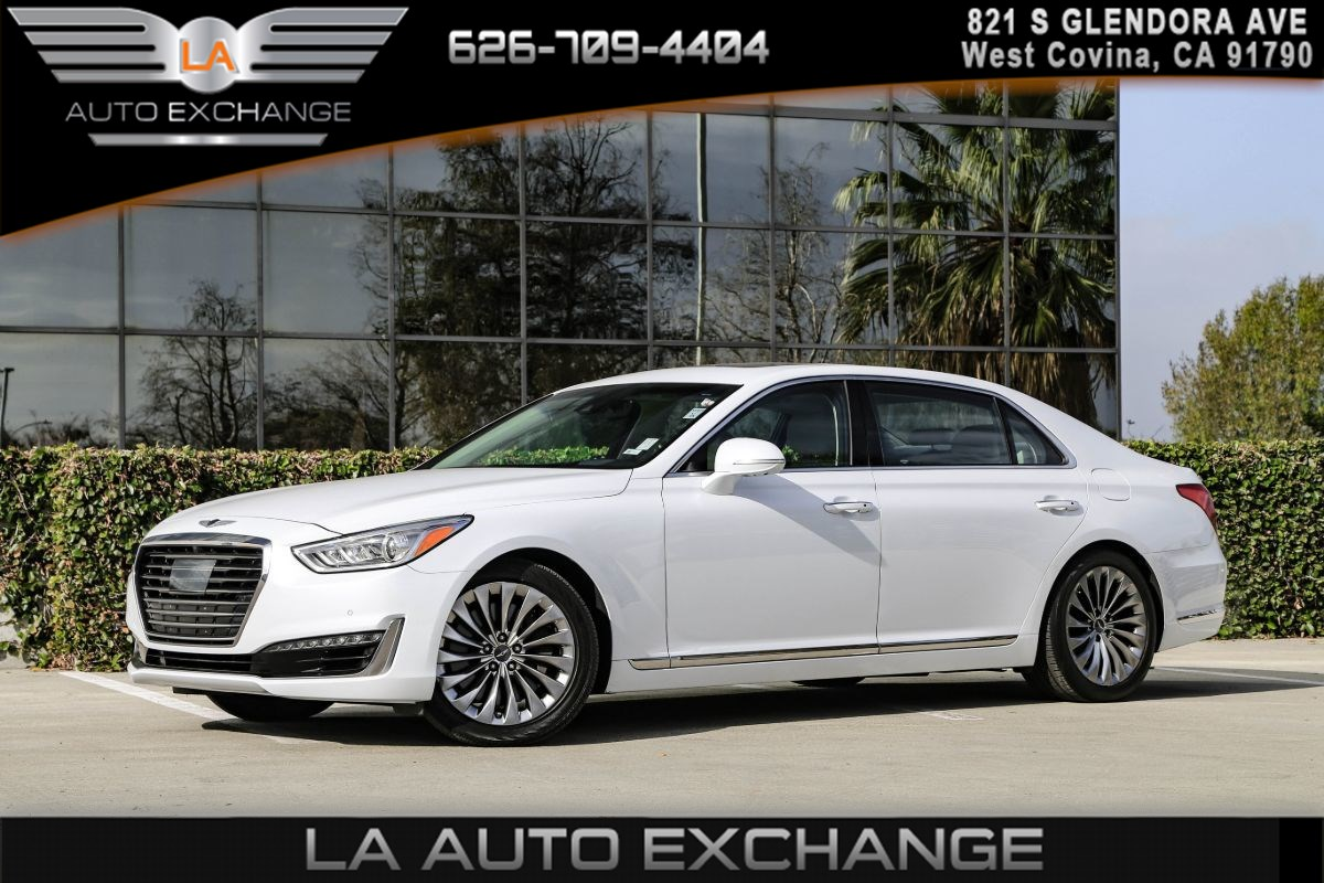 2017 Genesis G90 5.0L Ultimate (NAPPA LEATHER SEATING  & V8 MOTOR)