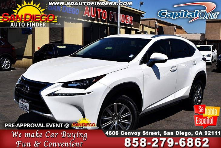2016 Lexus NX 200t, Low Miles,1 Owner,Just Gorgeous, SdAutoFinders.com,Clean Carfax,Don't miss it,