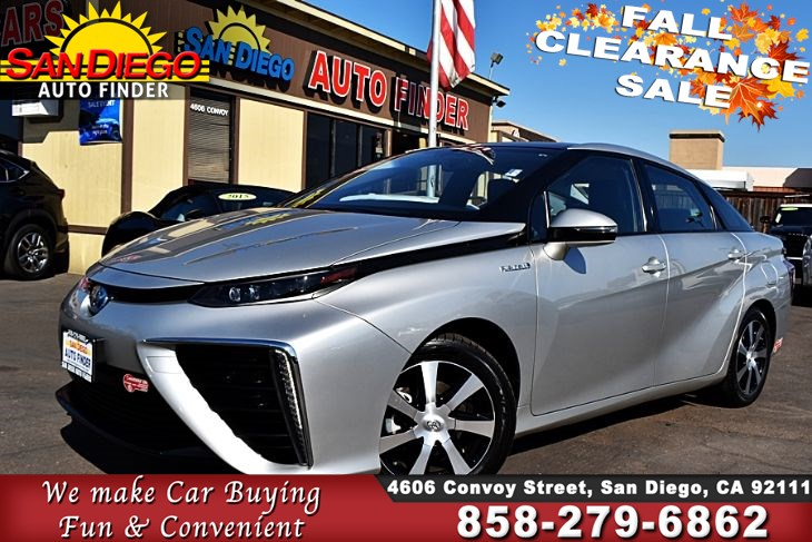 2017 Toyota Mirai,Hydrogen Fuel-Cell Powered 66MPG FullyLoaded Clean Carfax SdAutoFinders.com,