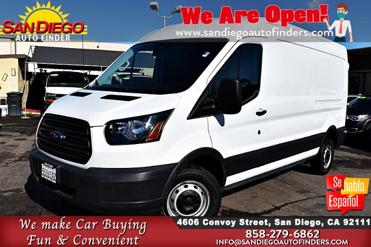 2016 Ford T-250,DIESEL,Cargo Van 1-Owner Clean Carfax  HARD TO FIND  Sdautofinders.com