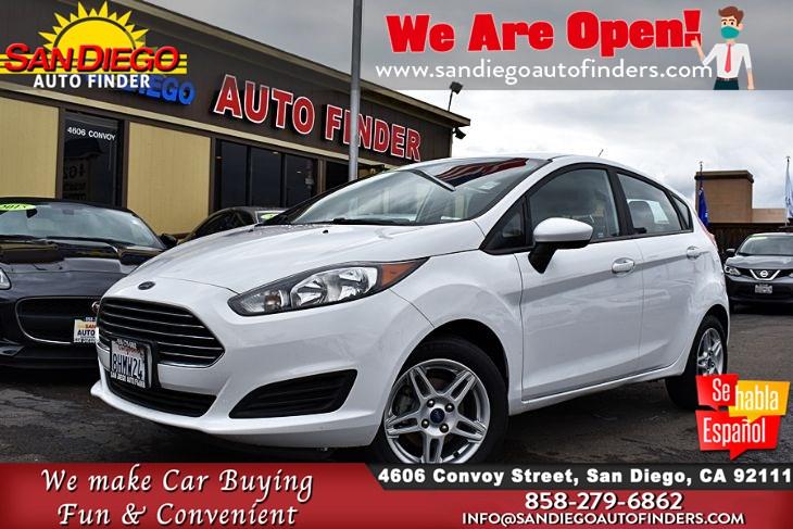 "2018 Ford Fiesta SE Hatchback Clean Carfax Rearview Camera  ""Great Price""..SdAutoFinders.com,"