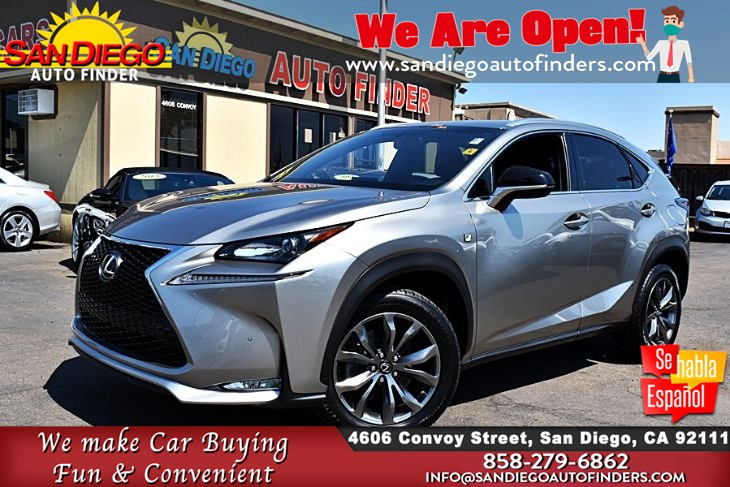 2016 Lexus NX 200t  F-Sport Red Leather Seat's Sport Tuned Suspension Sdautofinders.com