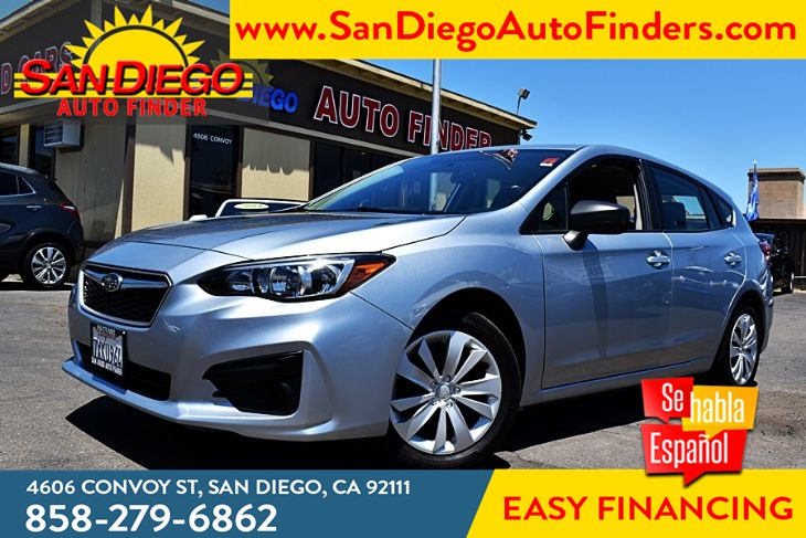 2017 Subaru Impreza 2.0i Wagon AWD 5-Speed only 32k Miles Keyless Entry Sdautofinders.com,