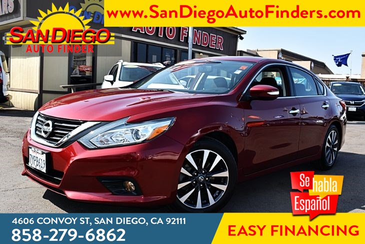 2017 Nissan Altima 2017.5 2.5 SV Sedan 39mpg MoonRoof Convenience & Weather pkg Sdautofinders.com,