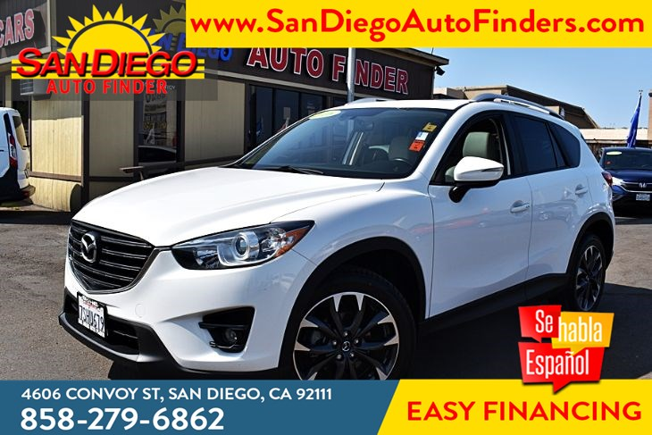 2016 Mazda 2016.5 CX-5 Grand Touring Navigation MoonRoof Leather Seat's Bose-Audio  Sdautofinders.com