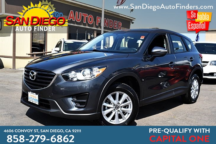 2016 Mazda CX-5 Sport (2016.5) Sky Active Only 49k Miles Backup Camera 1-Owner   Sdautofinders.com