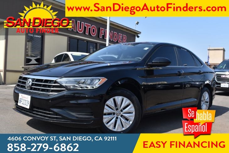 2019 Volkswagen Jetta S TurboCharged 1.4 Lit  City: 30 Hwy: 40 MPG Rearview Camera  Sdautofinders.com,