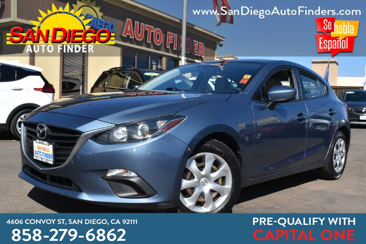2016 Mazda 3 I Sport Hatchback 40mpg Named a Car & Driver 10 Best! Back Up Camera Sdautofinders.com