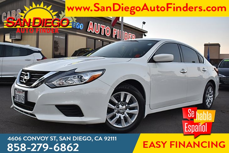 2018 Nissan Altima 2.5 Liter 4 Cyl 38mpg Convenience Package Sdautofinders.com