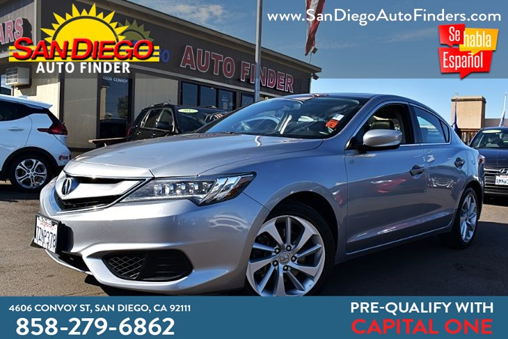 2017 Acura ILX, 1 owner, personal Lse, Clean carfax, sdautofinders.com, Just like new,..