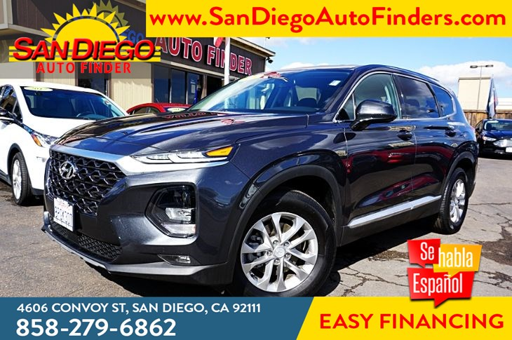 2020 Hyundai Santa Fe SEL  2.4 Liter 4 Cyl 29mpg Keyless Entry Apple CarPlay  Sdautofinder.com