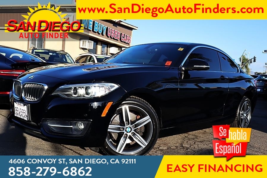 2017 BMW 230i Coupe Premium Pkg  Driving Assistance Pkg Navigation Heated Red Dakota Leather Seat's