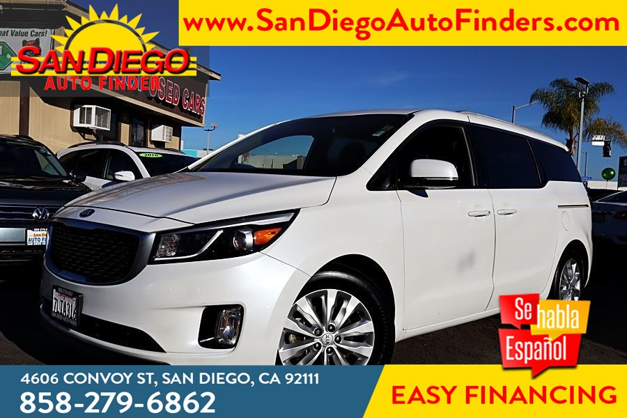 2015 Kia Sedona EX, 1 owner, Just Beautiful, Loaded, Lthr, Pwr Sliding doors,..