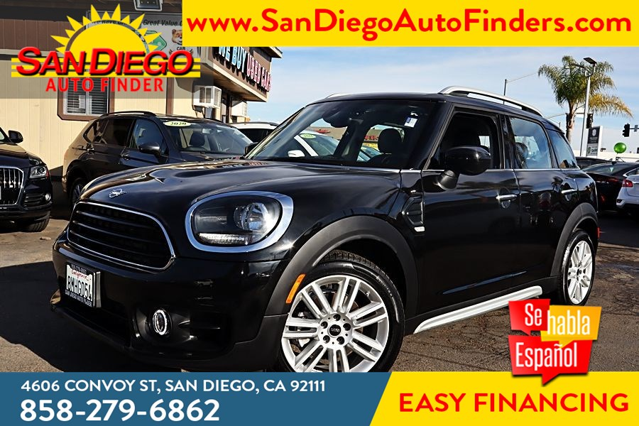 2020 MINI Cooper Countryman 1.5 Liter TwinPower 3 Cyl Panoramic Roof ,Leather Seat's Backup Camera