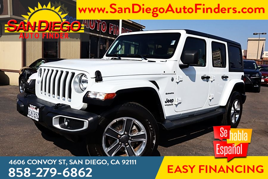 2019 Jeep Wrangler Unlimited Sahara 4x4, 1 owner,Low Miles, Hard Top, Like New, Clean Carfax,..
