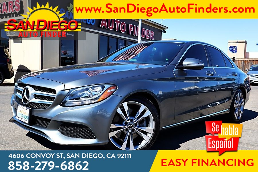 2018 Mercedes-Benz C 300 Sedan, 1 owner,Blind Spot, Heated Seats, LOaded, Gorgeous,A Must See,..