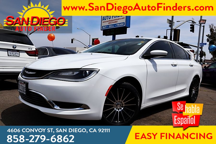 2015 Chrysler 200 Limited, Convenience grp,Low Miles,Custom Rims , Tinted windows,Cln carfax, Super Nice,Grt Price,