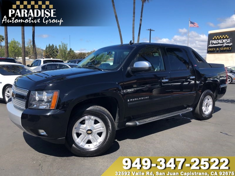 Sold 2007 chevrolet avalanche z71 package in san juan capistrano featured sciox Choice Image
