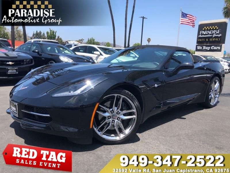 2014 Corvette Stingray For Sale >> Used 2014 Chevrolet Corvette Stingray Z51 2lt In San Juan Capistrano